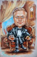 шарж аристократ