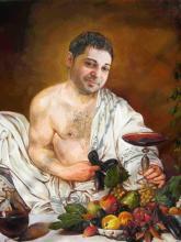 портрет дионис