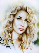 портрет девушка