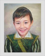 портрет мальчик