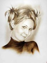 портрет хвостики