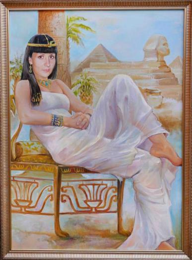 портрет клеопатра