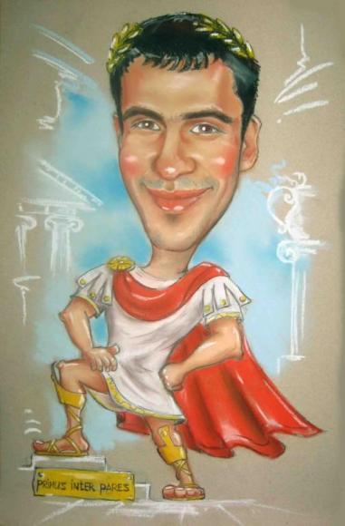 шарж Цезарь