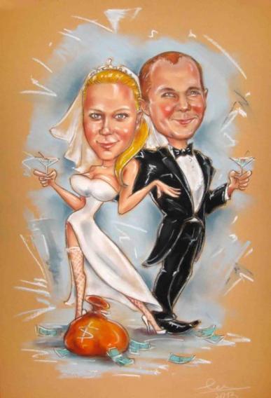 свадьба мартини