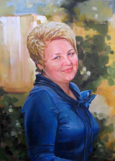 портрет мама