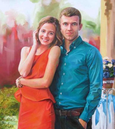 портрет пара